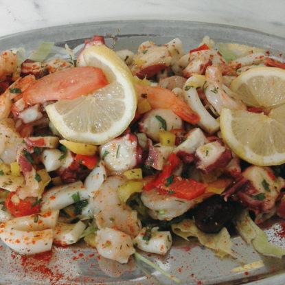 Meeresfrüchte Platte